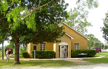 Bethel Primitive Baptist Church in McMahon, TXsite of the Southwest Texas Convention.